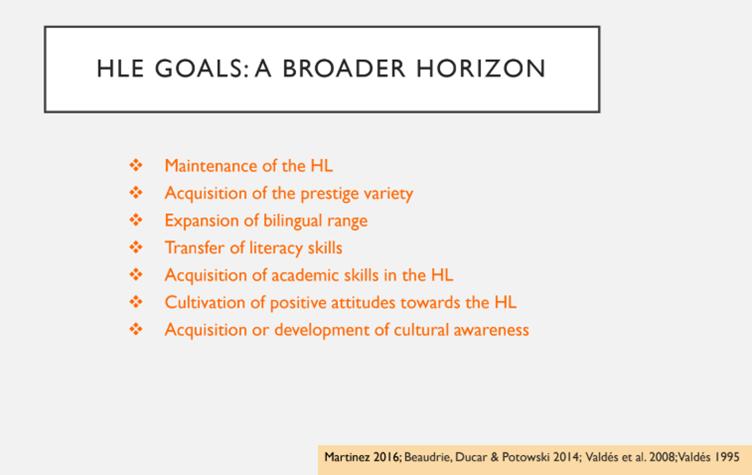 HL goals