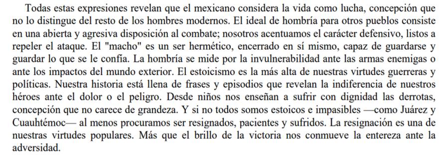 Octavio Paz extract